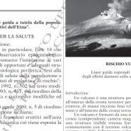 """Approvazione delle """"Linee guida a tutela della popolazione in caso di fenomeni eruttivi dell'Etna""""."""