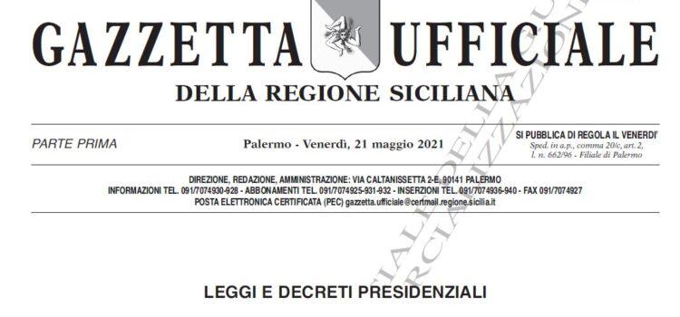 Pubblicate in G.U.R.S. le modifiche alla Relazione generale – Piano stralcio di bacino per l'assetto idrogeologico della Regione Siciliana – redatta nel 2004 e Tabella Elementi a rischio.